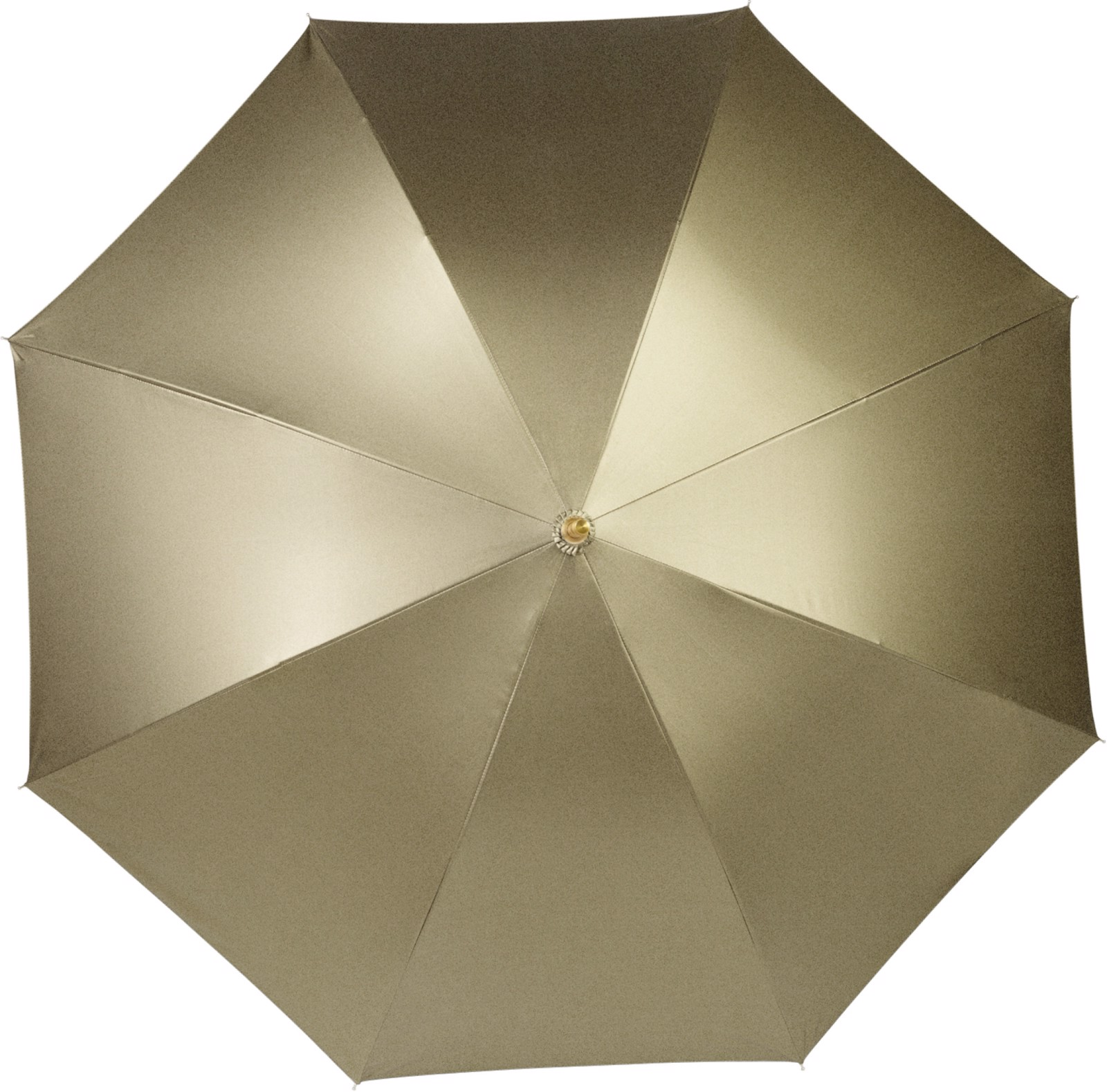 Pongee (190T) umbrella - Gold