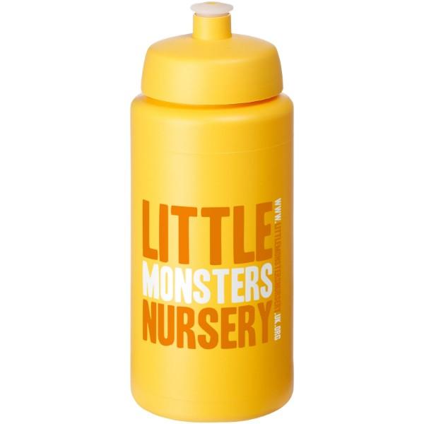 Baseline® Plus grip 500 ml sportovní lahev s víčkem na sport - Žlutá