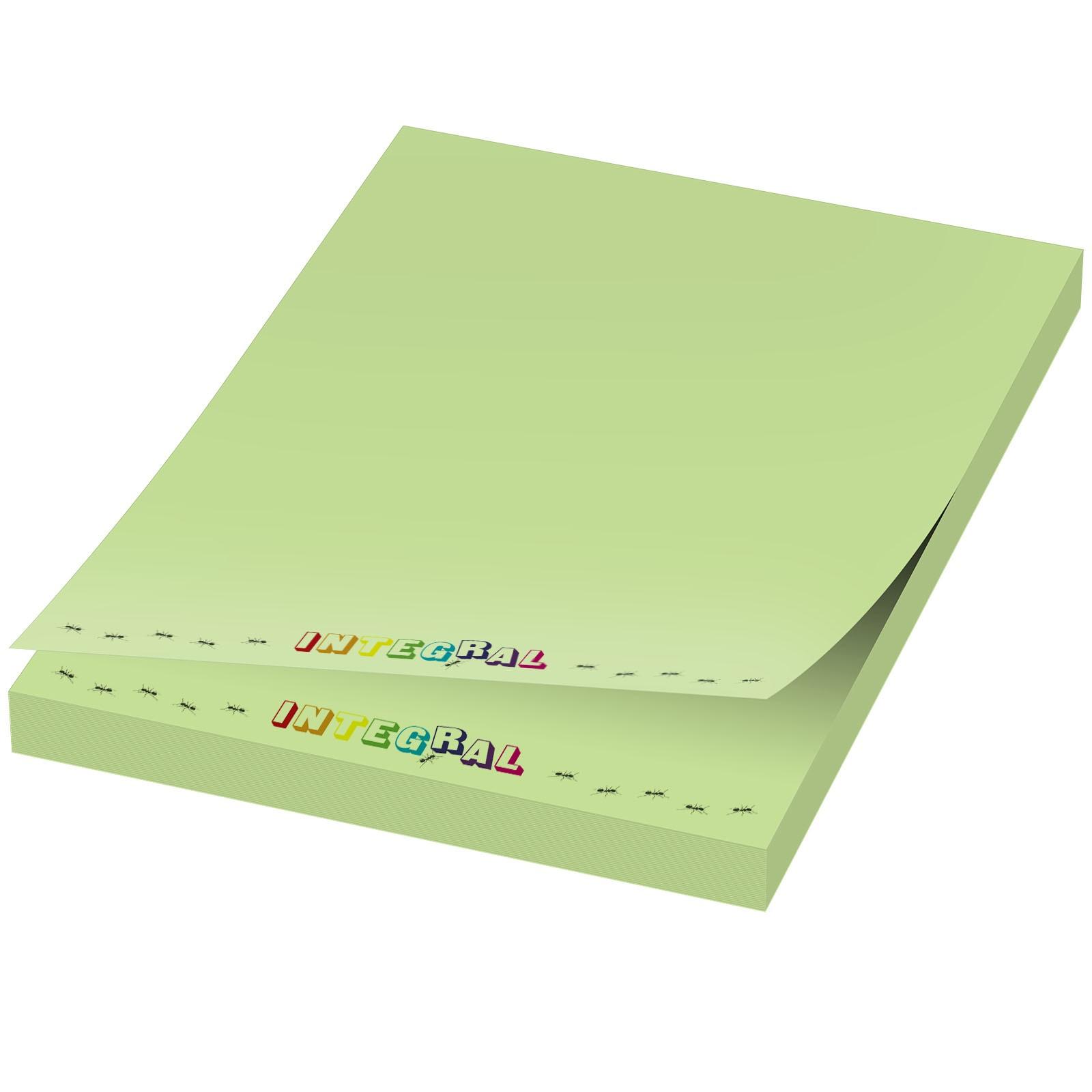 Samolepicí lístečky Sticky-Mate® 50x75mm - Mátově zelená / 50 pages