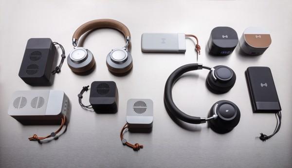 Aria vezeték nélküli komfort fejhallgató - Barna