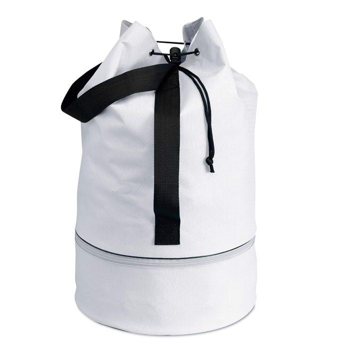 Vlněná taška Pisina - white