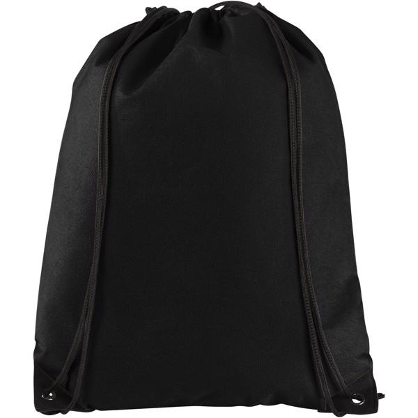 Netkaný, vysoce kvalitní batůžek Evergreen - Černá