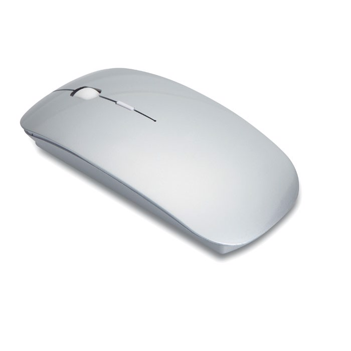 Myszka bezprzewodowa Curvy - srebrny mat