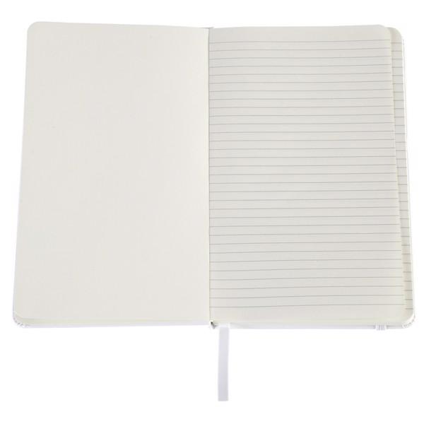 Notatnik Carmona 130x210/80k linia - Biały
