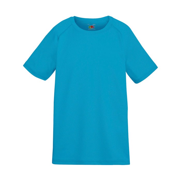 Kids T-Shirt Sports Kids Performance 61-013-0 - Azure Blue / S
