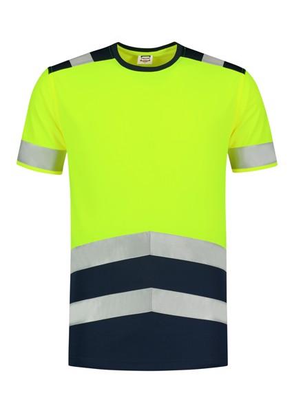 Tričko unisex Tricorp T-Shirt High Vis Bicolor - Fluorescenční Žlutá / 3XL