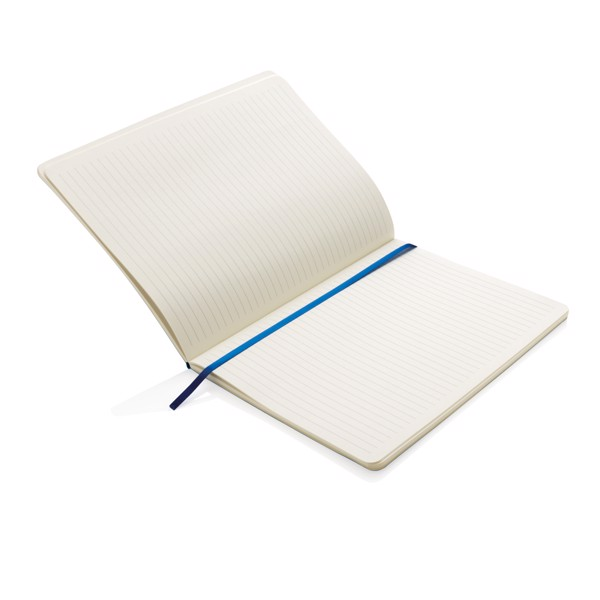 Deluxe B5 puhafedelű jegyzetfüzet XL - Kék