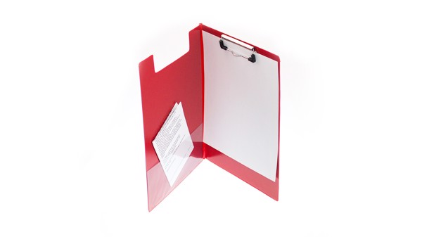 Carpeta Clasor - Rojo