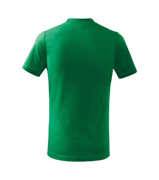Tričko dětské Malfini Basic - Středně Zelená / 158 cm/12 let