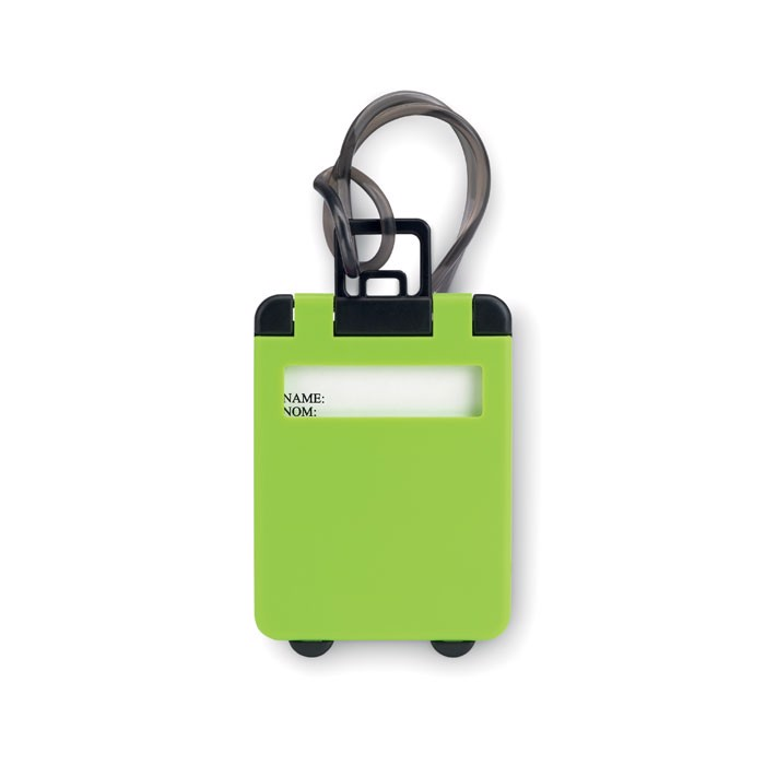 Luggage tags plastic Traveller - Green