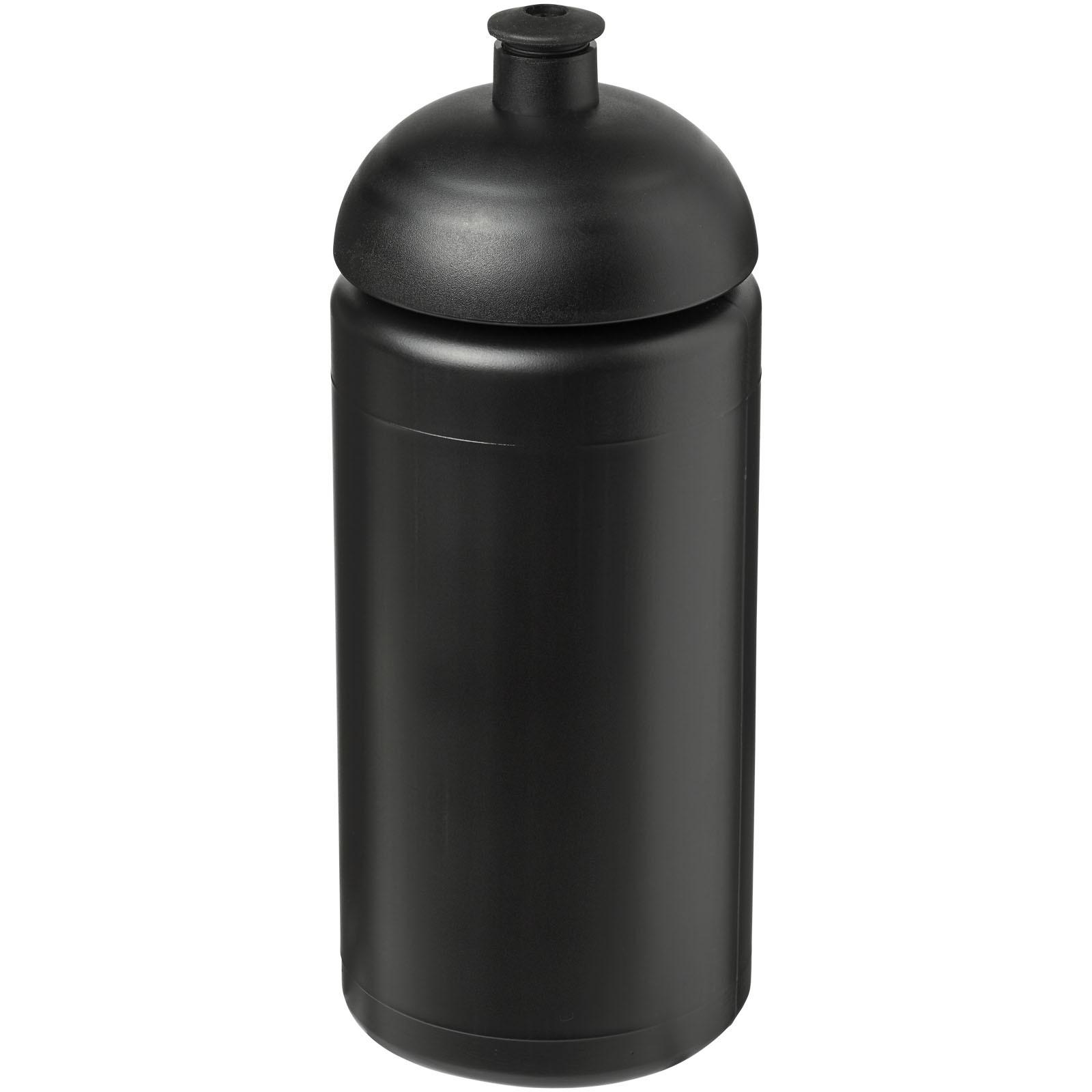 Sportovní láhev s kupolovitým víčkem Baseline® Plus grip 500 ml - Černá