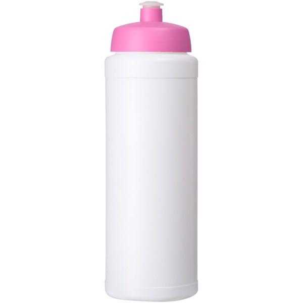Baseline® Plus grip 750 ml sports lid sport bottle - White / Pink