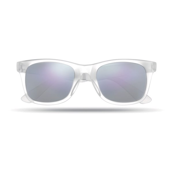 Sunglasses with mirrored lense America Touch - Transparent