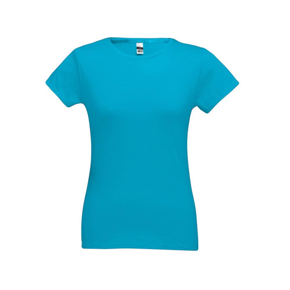 SOFIA. Dámské tričko - Modrá Aqua / L