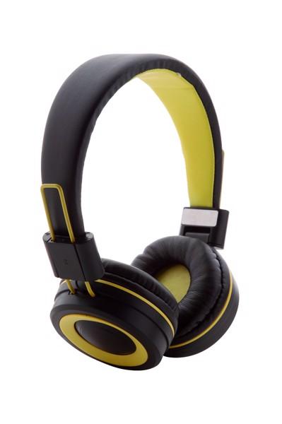 Bluetooth Sluchátka Tresor - Žlutá