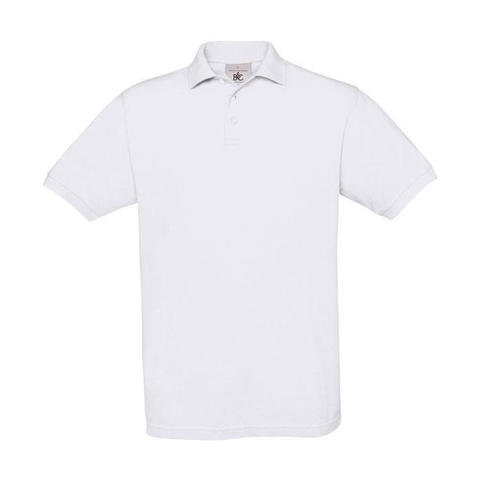 Men's Polo Shirt 180 g/m2 Pique Polo Safran Pu409 - White / S