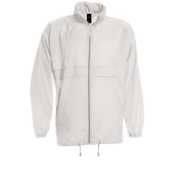 Men's Windbreaker 70 g/m2 Windbreaker Sirocco Ju800 - White / 3XL