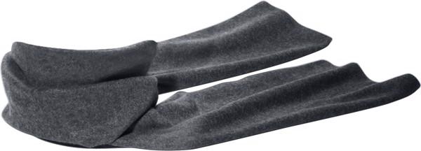 Fleece-Schal 'Kitzbühel' aus Polyester-Fleece - Grey