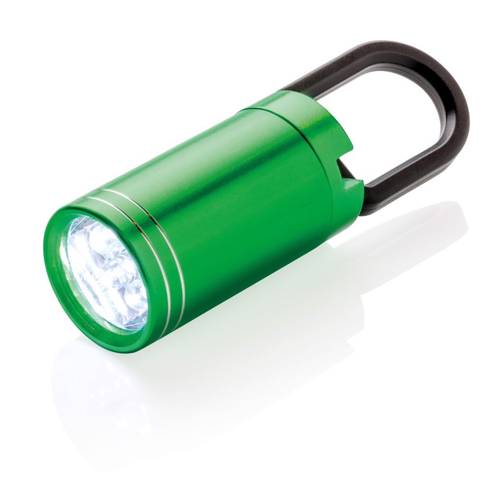 Pull it LED svítilna - Zelená / Černá
