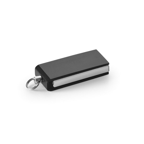 SIMON. Mini UDP flash drive, 4GB - Black