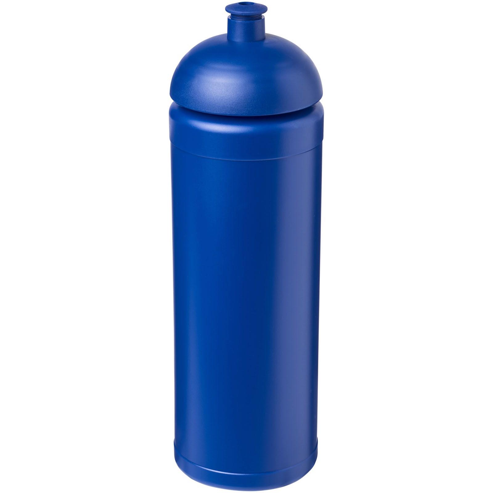 Sportovní láhev s kupolovitým víčkem Baseline® Plus grip 750 ml - Modrá