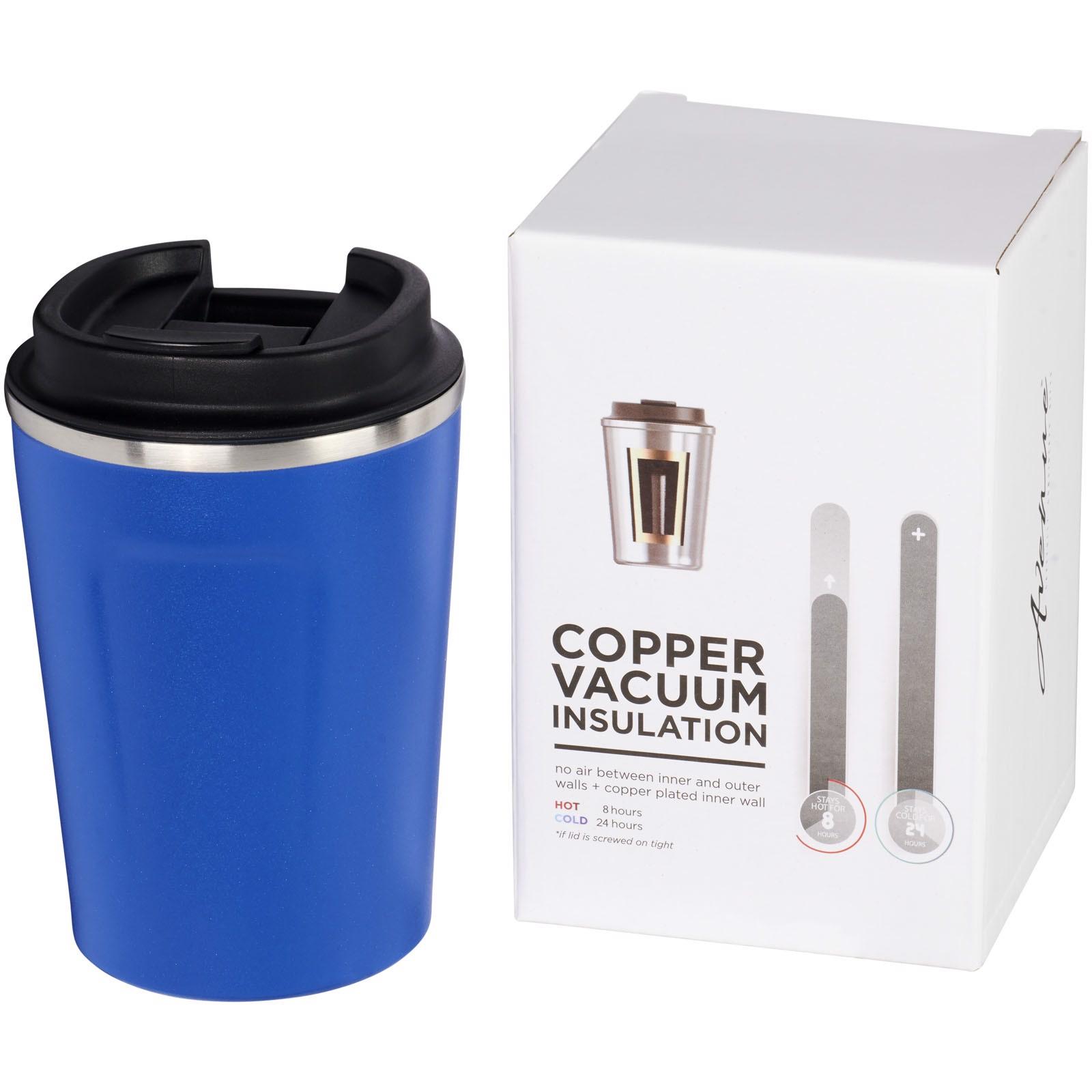 Thor 360 ml leak-proof copper vacuum tumbler - Blue