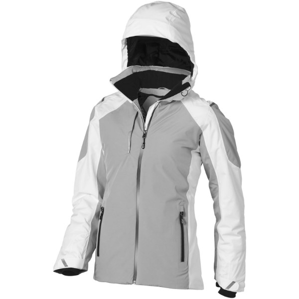 Ozark insulated ladies jacket - White / Grey / M