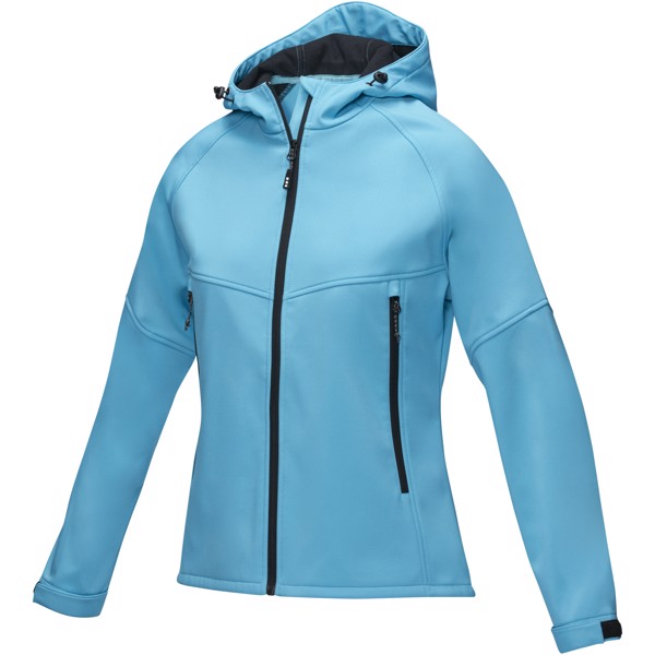 Coltan women's GRS recycled softshell jacket - Nxt Blue / XL