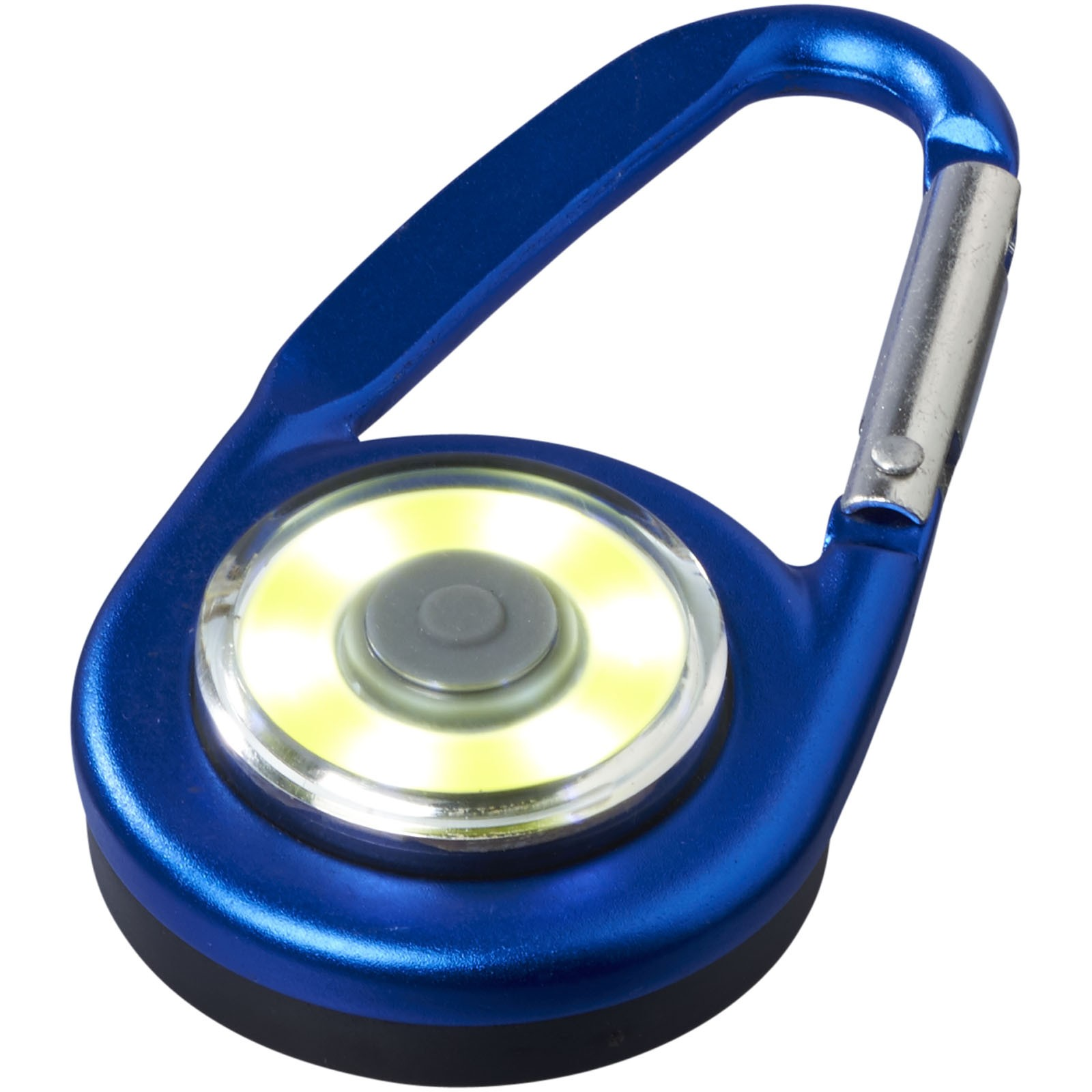 Eye COB light with carabiner - Royal blue