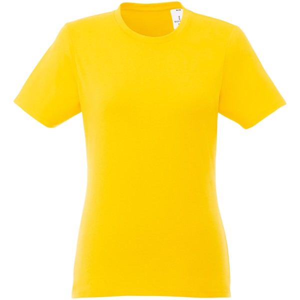 Heros short sleeve women's t-shirt - Yellow / L