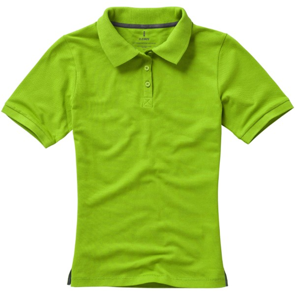 Calgary short sleeve women's polo - Apple green / XL