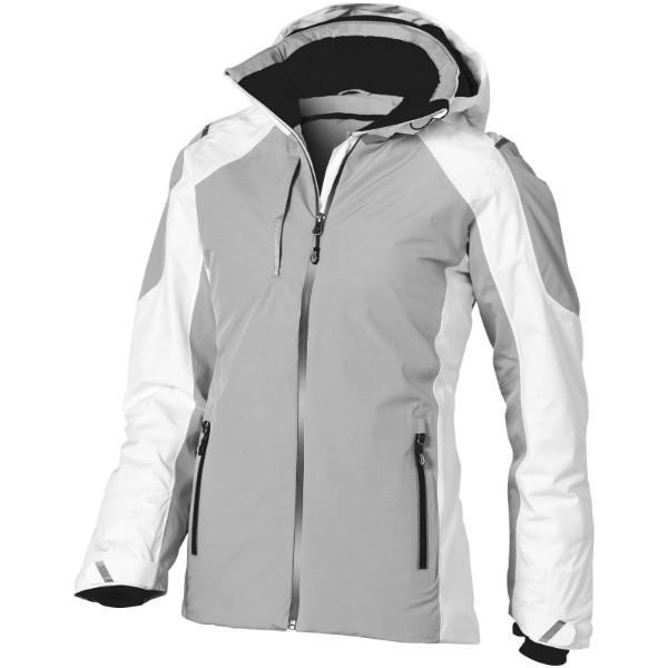 Ozark insulated ladies jacket - White / Grey / S