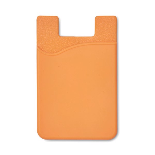 Silicone cardholder Silicard - Orange