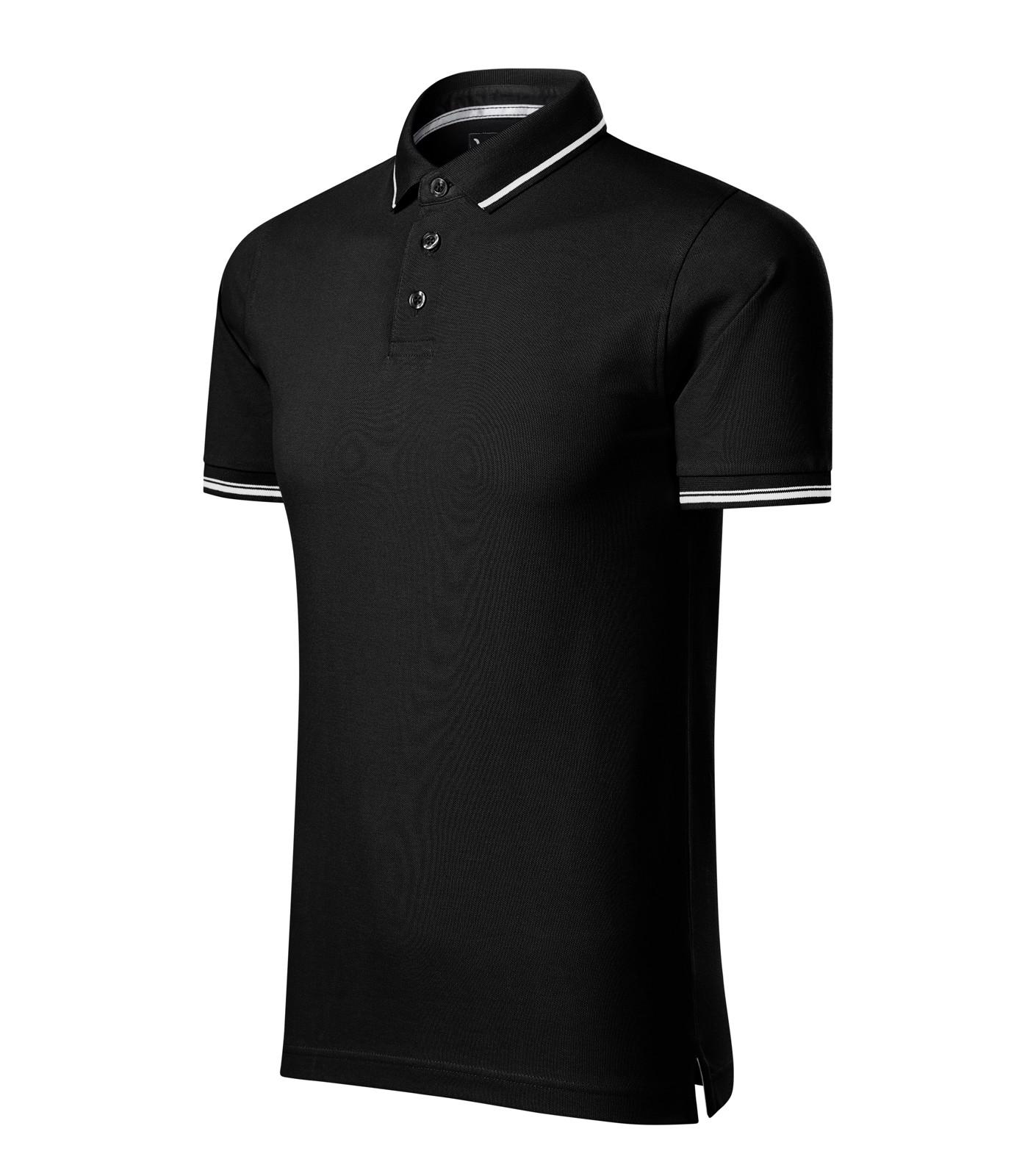 Polo Shirt men's Malfinipremium Perfection plain - Black / M