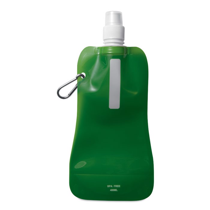 Butelka na wodę. Gates - przezroczysty zielony