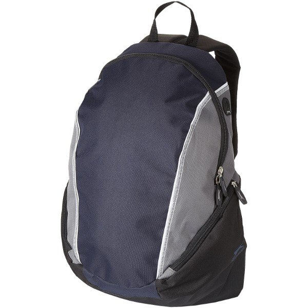 "Brisbane 15.4"" laptop backpack - Navy / Grey"