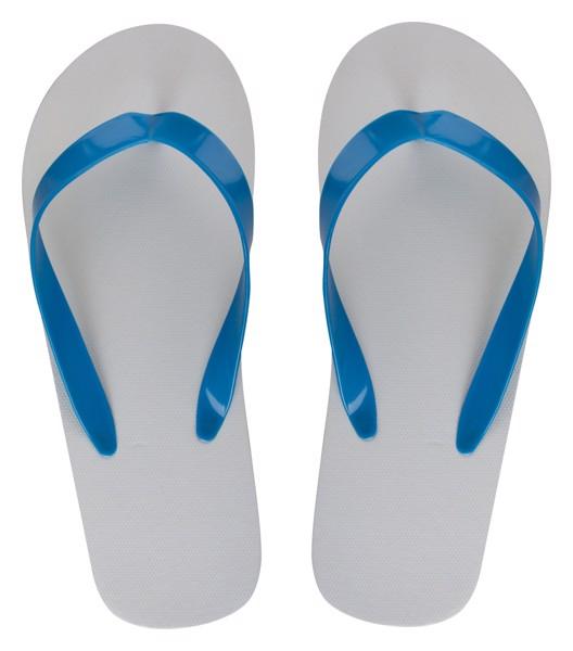 Plážové Žabky Na Zakázku - Pásek CreaSlip - Bílá / B