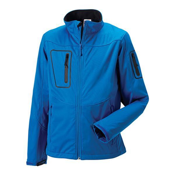 Casaco Sportshell 5000 Men 250G - 100% Poliéster - Azul Turquesa / M