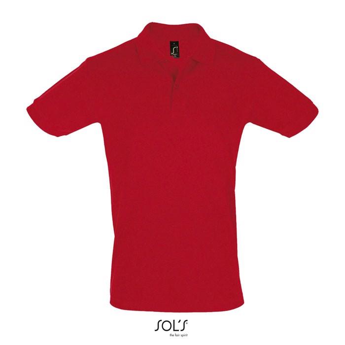 PERFECT POLO HOMBRE 180g Perfect Men - Rojo / L