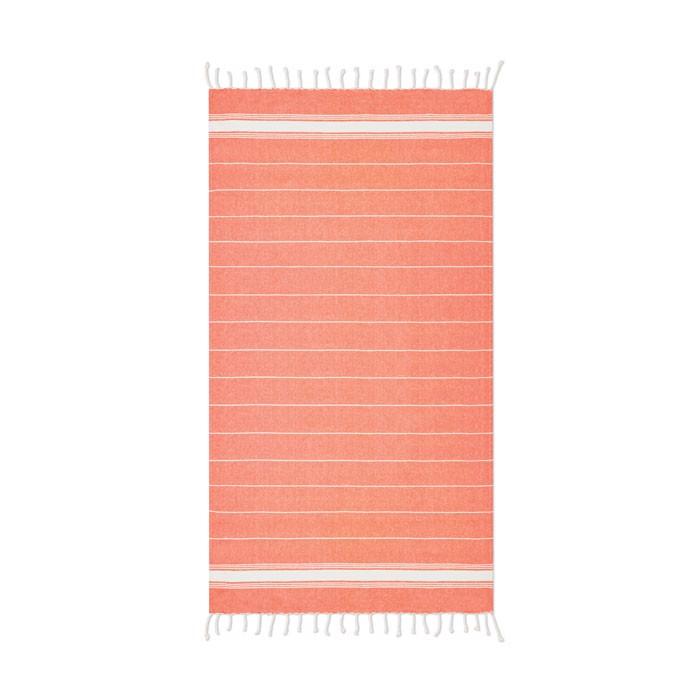 Beach towel cotton  180 gr/m² Malibu - Orange