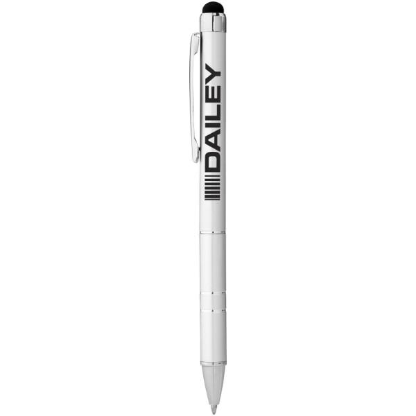 Długopis ze stylusem Charleston - Srebrny