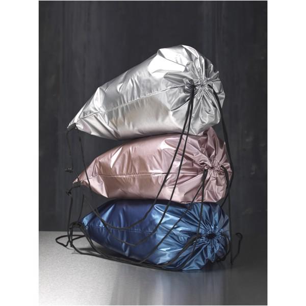 Oriole lesklý šňůrkový batoh - Růžová