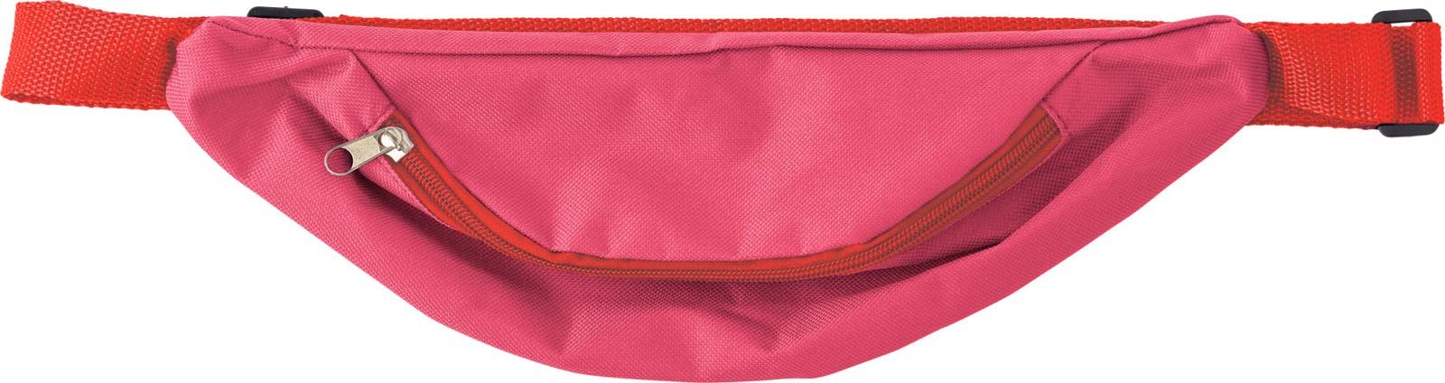 Oxford fabric waist bag - Red