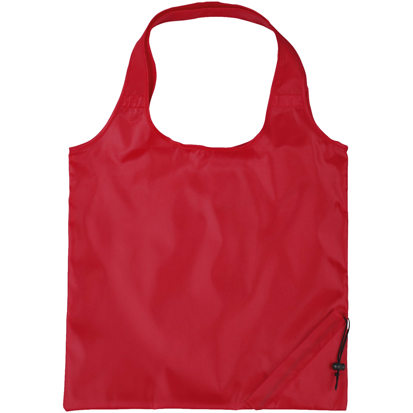 Bungalow foldable tote bag - Red