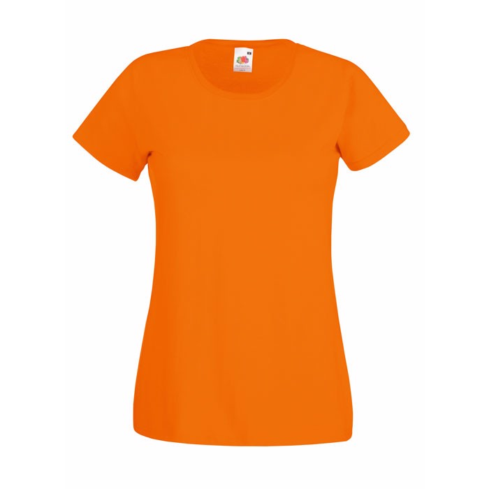 Lady-Fit T-Shirt 165 g/m² Lady-Fit Value Weight 61-372-0 - Orange / XXL