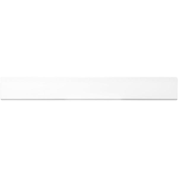Plastové pravítko 30 cm Renzo - Bílá