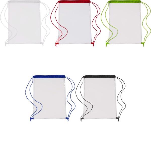 PVC drawstring backpack - Lime