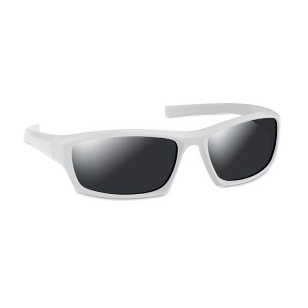 Okulary sportowe Andorra - biały