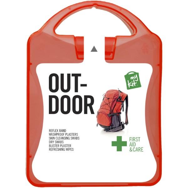 Lékarnička Outdoor - Červená s efektem námrazy