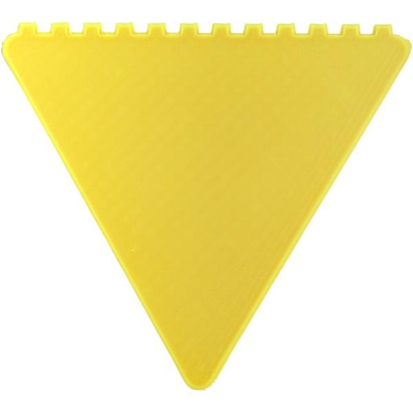 Trojúhelníková škrabka na led Frosty - Žlutá